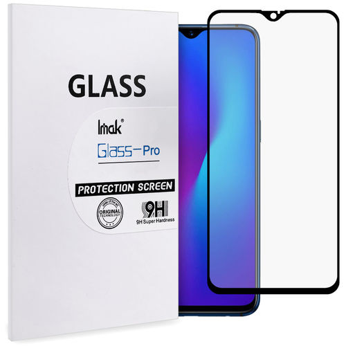 Full Coverage Tempered Glass Screen Protector for Oppo R17 / R17 Pro - Black